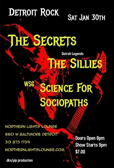 Show preview: Sillies, Secrets, and Science for Sociopaths at Northern Lights this Sat., Jan. 30