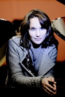 French pianist Hélène Grimaud hopes to jog your 'Memory' at Ann Arbor's Hill Auditorium