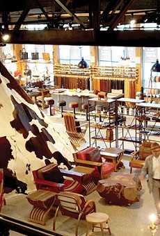Who's shopping at Will Leather Goods?
