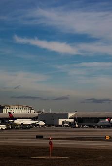 Detroit Metro Airport.