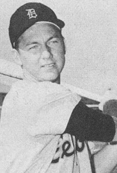 Al Kaline in his official 1957 Detroit Tigers photo.