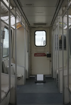 Electronic musician Squarepusher, who was supposed to perform in Detroit today, releases video filmed on an empty People Mover