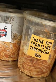 Good dude and rap god Eminem sends Mom's Spaghetti to metro Detroit health care workers