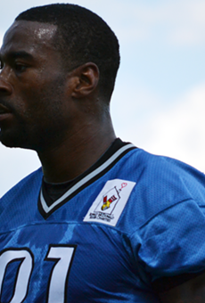 Calvin Johnson posts gory photo on Instagram; ruins days everywhere