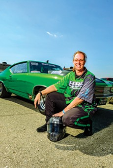 Speed queen: Meet Karri Anne Beebe, the fastest woman in Michigan