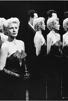 Orson Welles and Rita Hayworth in The Lady from Shanghai, 1948.