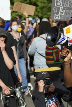 """Detroit activist Tristan Taylor organized Detroit's Black Lives Matter protests. """"We say this is America's problem, right?"""" he says. """"If this is America's problem, it's actually the obligation and duty of America to stand with Black and brown bodies."""""""