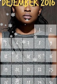 Dej Loaf has her own visual advent calendar on the Internet