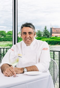 Side Dish: Chef Luciano DelSignore is a swell guy