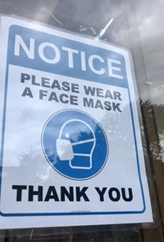 Michigan residents are required to wear masks in stores.