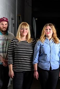 Drinkard Sisters: Nick Landstrom, Dan Clark, Caitlin Drinkard, Bonnie Drinkard, and Ryan Harroun