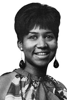 Aretha Franklin in 1967. Photo via Wikipedia.