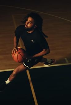 J.Cole in PUMA's 'Dreamer' campaign.
