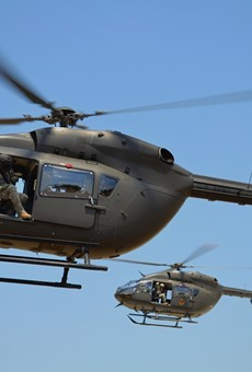 U.S. Army UH-72 Lakota helicopter.