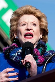Sen. Debbie Stabenow in Warren.