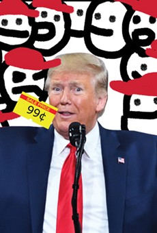 Local rock star Eddie Baranek reviews Trump's first term