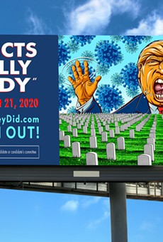 Artists create more anti-Trump billboards, street posters to be erected in Michigan cities