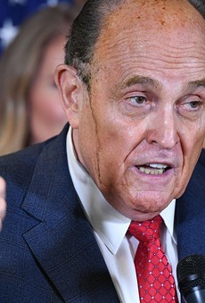 President Donald Trump's personal lawyer Rudy Giuliani.