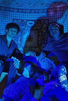 Dirt Room (from left): Mahadeva Kota, Samuel Sprague, Pat Norton, and Sree Kota.