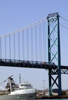 Ambassador Bridge in Detroit.