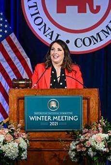 RNC Chairwoman Ronna McDaniel.