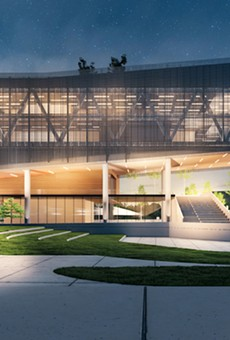 As part of its $100 million Racial Equity and Justice Initiative commitment, Apple is supporting the launch of the Propel Center (rendering above), an innovation hub for the entire HBCU community that will provide curriculum, internships, and mentorship opportunities.
