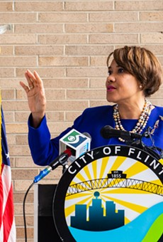 Then-Mayor Karen Weaver in 2018.