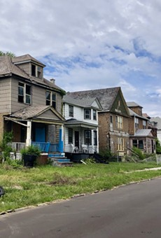 More than 20,000 vacant houses create blight in Detroit.