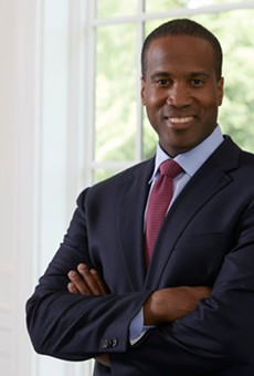 Republican Senate candidate John James.