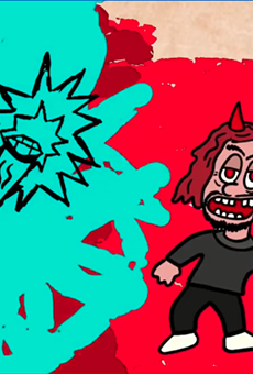 Enjoy this animation about the legend of Detroit's Nain Rouge by Artnuttz