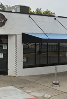 The now-shuttered Peso Bar on Bagley Avenue in Detroit's Mexicantown.