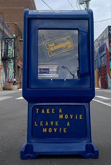Detroit now has a Free Blockbuster box so you can swap DVDs or VHS tapes like the good old days (minus the late fees) (2)