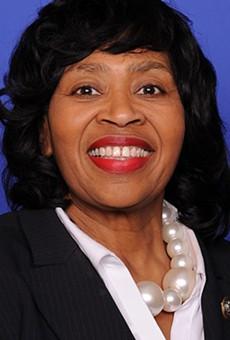 Brenda Jones's portrait from her brief time in the U.S. House of Representatives in 2018.