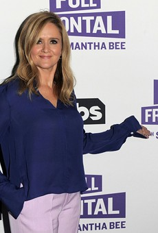 'Full Frontal' host Samantha Bee.