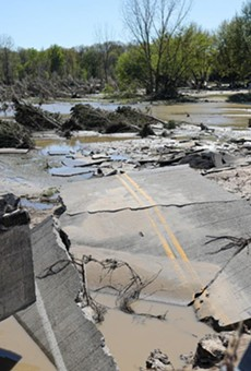 The Midland-area flood in May 2020 destroyed homes, businesses, and roads after two dams collapsed.