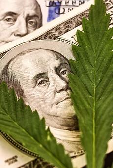 Marijuana makes money.