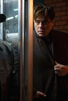 Don Cheadle and Benicio del Toro in No Sudden Move.