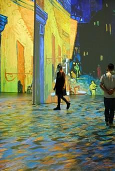 Beyond Van Gogh is extending its exhibit through October.