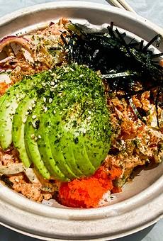 Spicy tuna bowl.