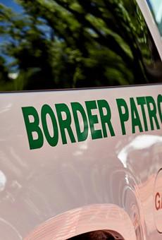 U.S. Border Patrol vehicle.