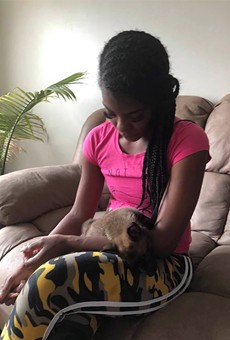 Something's fishy about the story of the Detroit woman with a pet hyena in viral Facebook post