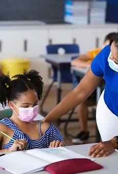 State bill would ban schools from requiring masks for students.