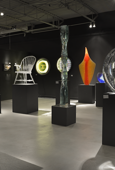 The 50th anniversary show will feature glass work from all over the world.