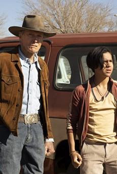 Clint Eastwood and Eduardo Minett in Cry Macho.