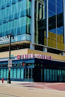 Union Assembly's restaurant at the Little Caesars Headquarters.