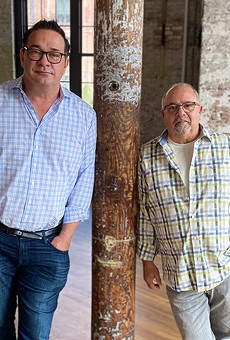 Steve Palmer, left, and Mickey Bakst, a metro Detroit native, co-founded Ben's Friends, a national support group for restaurant industry workers. Metro Detroit is the group's latest chapter.