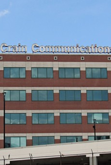 The headquarters of business and trade publisher Crains Communications.