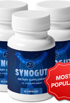 SynoGut Reviews - Can this Prebiotic Supplement Improve Healthy Digestion? Safe Ingredients? Customer Reviews!