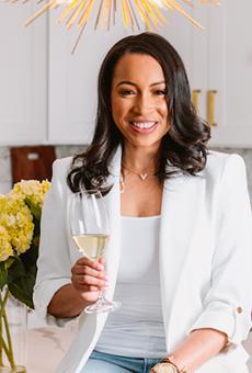 Dr. LaToya Thompson will launch Opulence Wine, a luxury wine brand on Oct. 7.