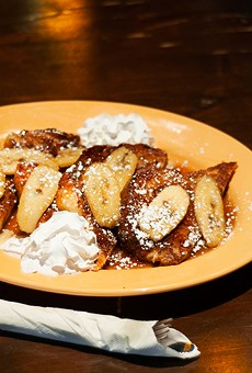 Bananas Foster French toast.